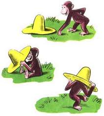CuriousGeorge_hat_hiding