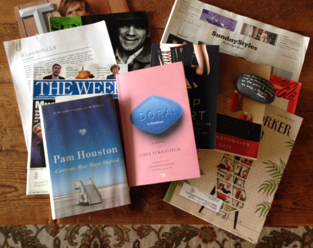 What's on my nightstand: March2017