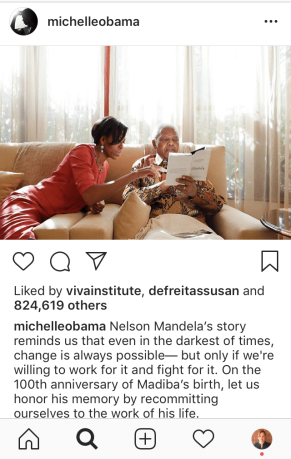 Michelle Obama_Nelson Mandela