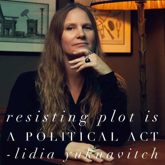 """Step 9: """"Resisting plot is a politicalact"""""""