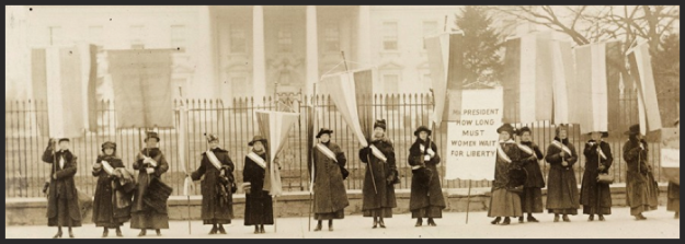 suffragettes1917protest
