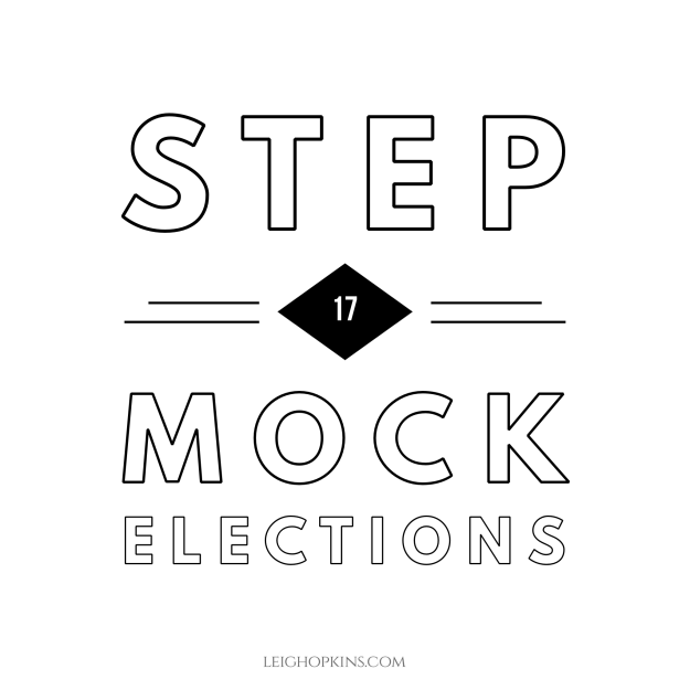 Step 17: Mock Elections