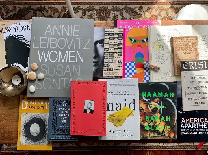 What's on my Nightstand: August 2019